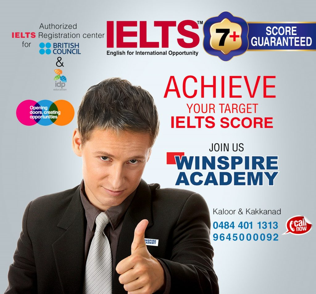 IELTS 7+ score guaranteed