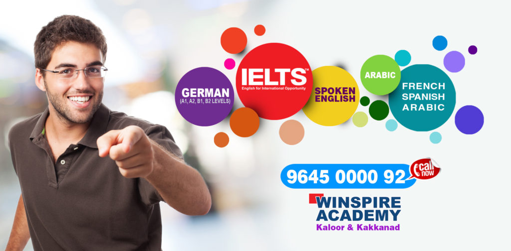 language training academy ielts german spoken english french