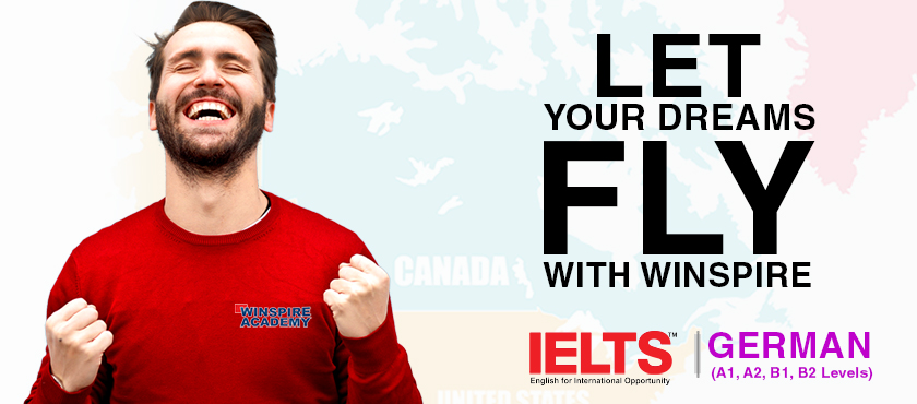 ielts, Spoken English, German