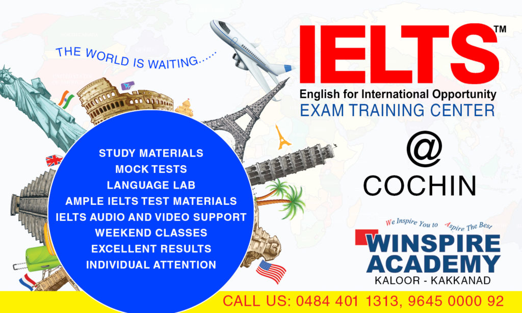 ielts exam training center