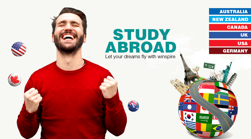 Study Abroad, Canada, Australia, UK, Germany
