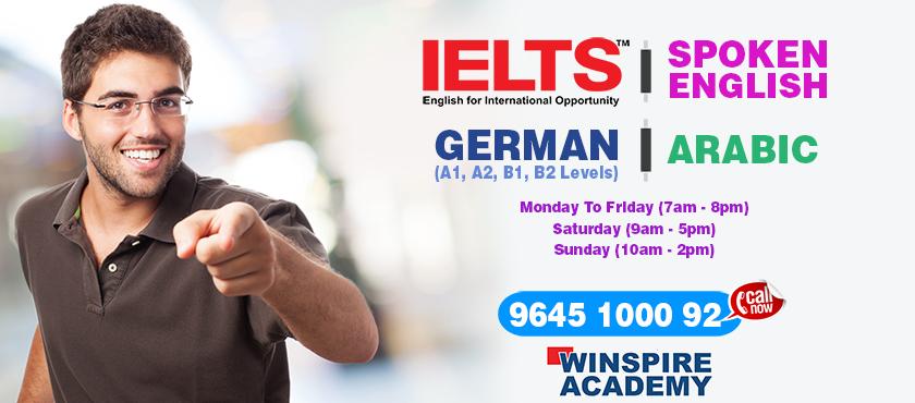 ielts spoken english german